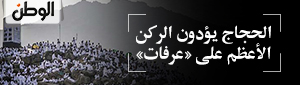 الحجاج يؤدون الركن الأعظم على «عرفات»