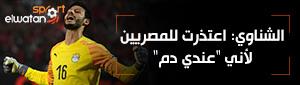 الشناوي: اعتذرت للمصريين عن خروج المنتخب لأني