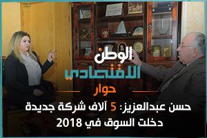 حسن عبدالعزيز: 5 آلاف شركة جديدة دخلت السوق في 2018