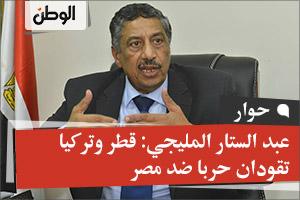 عبد الستار المليجي: قطر وتركيا تقودان حربا ضد مصر