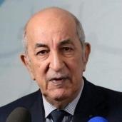 الرئيس الجزائري عبدالمجيد تبون