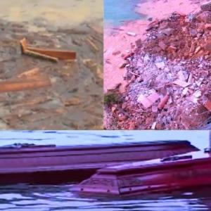 رعب في بلدة الإيطالية.. 200 تابوت عائم وسط المياه «فيديو»