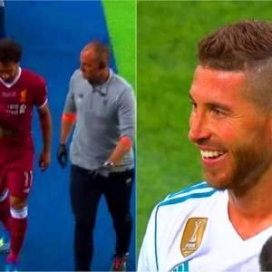 """صحيفة """"مترو"""": راموس يحتفل بخروج محمد صلاح من كأس العالم"""