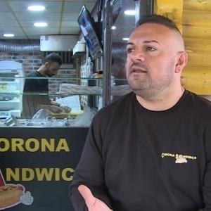 """""""الشهرة من أوسع أبوابها"""".. مطعم يقدم كورونا على طبق: أحلى ساندويتش"""