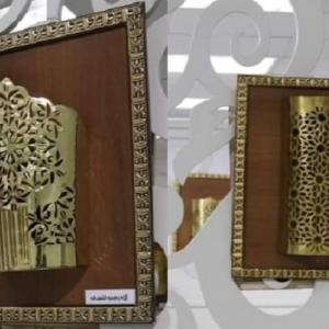 """إبداع نرمين وطلابها.. روائع الزخرفة الإسلامية في """"مكتبة مصر"""" (صور)"""