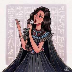 لوحات فرعونية من وحى حفل «موكب المومياوات»: التاريخ يشهد على عظمة مصر