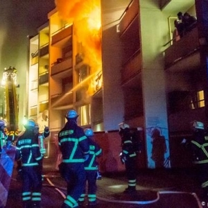 """مرتبه تأخر شويتين"".. كوري يشعل النيران في شقته ويقتل 5 من جيرانه"