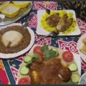 «أمونة» تفتتح مطعما للأكلات السودانية بالدقي: «بربي 7 أيتام»