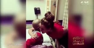 هنا الزاهد تفاجئ طفلا مصابا بالسرطان بالزيارة