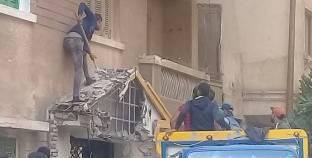 محافظ الإسكندرية: حملة إزالة التعديات على مسطح 1107م2 بحوض أرض الأشراف