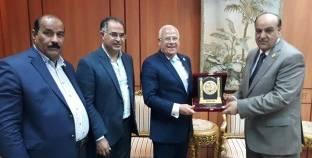"""محافظ بورسعيد يستقبل رئيس """"قومي قبائل مصر"""" بمكتبه"""