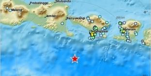 زلزال يضرب جزيرة بالي الإندونيسية بقوة 6.1 درجة
