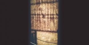 الشمس تتعامد على معبد الآلهة إيزيس بدير شلويط غرب الأقصر