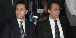 """144 ساعة لـ""""نجلي مبارك"""" في حبس """"البورصة"""".. و""""25 دقيقة"""" أخلت سبيلهما"""