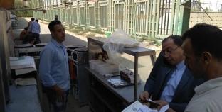 """رئيس جامعة بني سويف يلزم العاملين بالكافتيريات بـ""""الشهادات الصحية"""""""