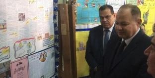"""محافظ الفيوم يشهد احتفالية """"التربية والتعليم"""" بانتصارات أكتوبر"""