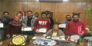 """جامعة دمنهور تكرم المشاركين في """"أسبوع الجودة"""""""