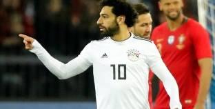 بعد هدفه في البرتغال.. «صلاح» يعادل عدد أهداف «متعب» مع الفراعنة