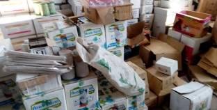 ضبط مخزن تابع لشركة أدوية بداخله منتجات دون فواتير في الغردقة