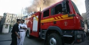 إخماد حريق بلوحة كهرباء غرب الإسكندرية