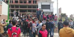 صور| وقفة لطلاب الثانوية العامة بالشرقية للمطالبة بعودة النظام القديم