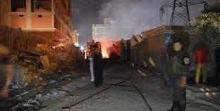 السيطرة على حريقين منفصلين بمنوف والسادات دون إصابات بشرية