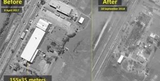 إسرائيل تنشر صور غاراتها خلال حادث إسقاط الطائرة الروسية
