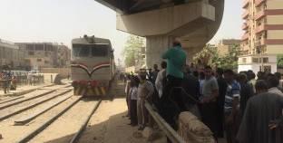 خروج قطار عن القضبان في أسوان دون إصابات