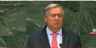 جوتيريش: جُنبنا حربا عالمية ثالثة.. وانطلاق سباق تسليح جديد بالعالم