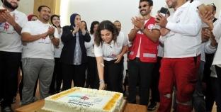 """""""أصغر متبرعة بالدم في مصر"""".. أمنية: """"زي ما ليا حقوق عليا واجبات"""""""