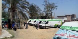 قافلة جنوب الوادي تقدم خدماتها الطبية لـ748 مريضا في قنا