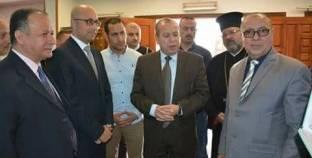 محافظ دمياط يفتتح معرض الكتاب بمكتبة مصر العامة