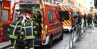 عاجل| 13 مصابا في انفجار بمدينة ليون الفرنسية