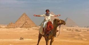 """بعد فيلمه الدعائي لـ""""مصر"""".. باكستاني: عشقت كل ثانية بمنتدى شباب العالم"""