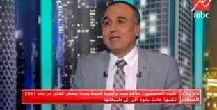 نقيب الصحفيين: مصر الدولة الأكثر استحقاقا للمياه في دول حوض النيل
