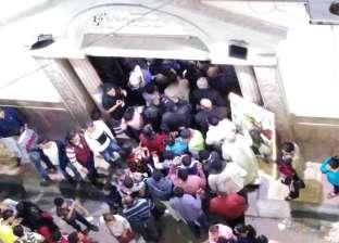 بالصور| كنيسة الشهيد مارجرجس بالإسكندرية تحتفل بعيدها الـ80