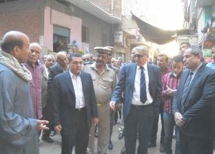 محافظ المنيا يتفقد بعض المخابز البلدية خلال جولته بمدينة ملوي