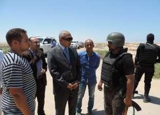 """""""أمن مطروح"""" يضبط 16 مشتبها بهم جنائيا في حملة بالمحافظة اليوم"""