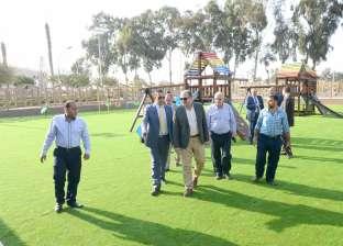 رئيس جامعة المنصورة يتفقد المرحلة الأولى من خطة تطوير منشآت نادي النيل