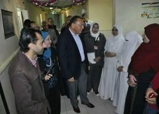 بالصور| رئيس جامعة القناة يتفقد المنشآت الجديدة بالمستشفى الجامعي