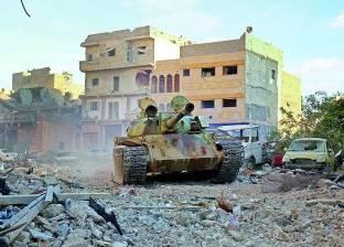 ارتفاع حصيلة اشتباكات المواجهات فى العاصمة الليبية إلى 50 قتيلاً