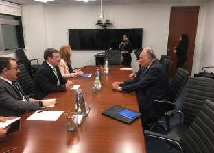 """""""الخارجية"""": لقاء """"شكري"""" ورئيس """"UNDP"""" لتطوير آفاق التعاون"""
