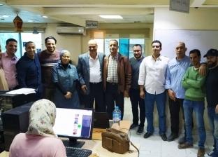 """خالد ميري يزور """"الوطن"""" ويقدم الشكر للصحفيين بعد فوزه في انتخابات النقابة"""
