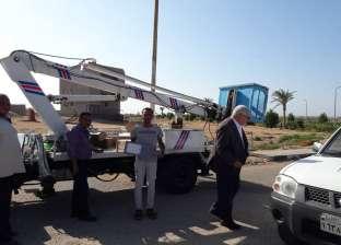 """استمرار حملات صيانة الكهرباء بأحياء مدينة الطور بـ""""جنوب سيناء"""""""