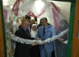 نائب رئيس جامعة أسيوط يفتتح معرض ختام الأنشطةلطلاب المدينة الجامعية