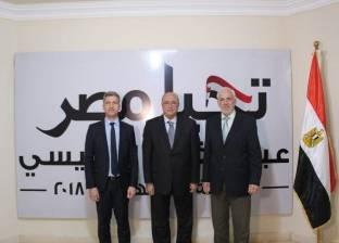 """منسق """"حملة السيسي"""" يستعرض منظومة العمل مع سفيري اليونان وقبرص"""