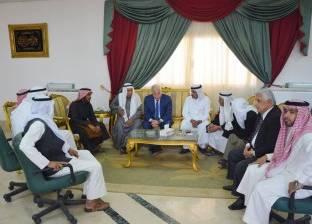محافظ جنوب سيناء يشيد بدور مشايخ وعواقل القبائل في الانتخابية الرئاسية