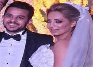 بالصور| كواليس لقاء مي حلمي وزوجها محمد رشاد مع عمرو أديب