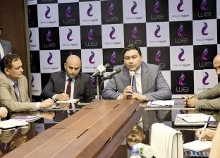 عادل حامد الرئيس التنفيذى للشركة: «المصرية للاتصالات» تنهى تطوير الإنترنت 2020.. وتضخ 17 مليار جنيه فى البنية التحتية خلال عامين