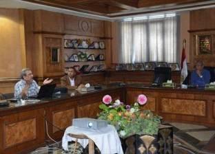 محافظ المنيا يتابع إنشاء المدينة العمالية بالمنطقة الصناعية